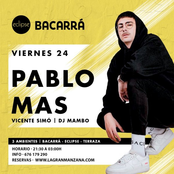 BACARRA & ECLIPSE | 24 de SEPTIEMBRE