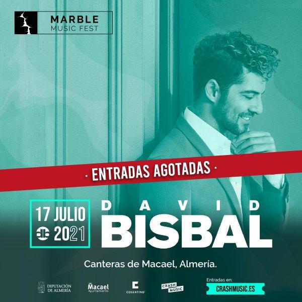 CONCIERTO DAVID BISBAL- MARBLE MUSIC FEST
