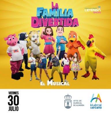 MUSICAL INFANTIL - LA FAMILIA DIVERTIDA