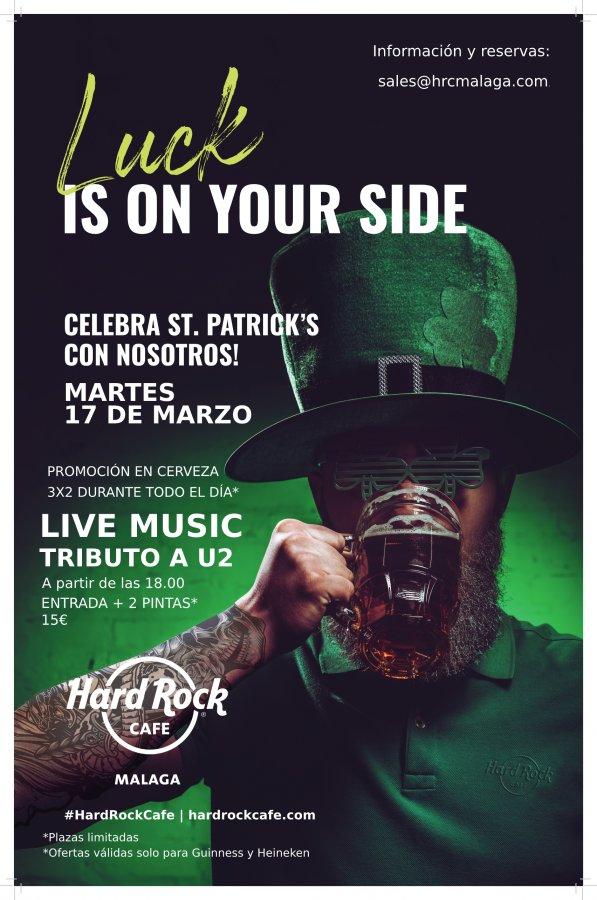 Live Music especial St Patrick's: Tributo a U2