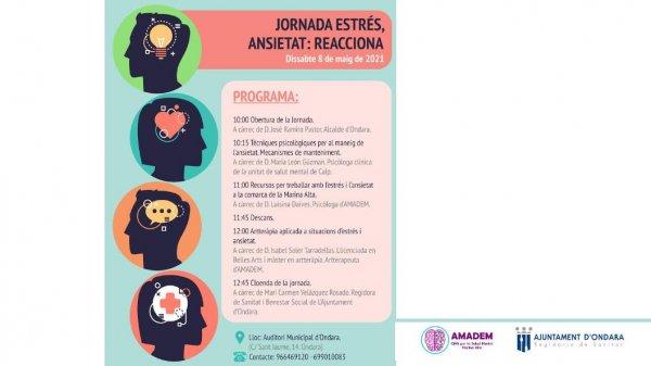 JORNADA ESTRÉS, ANSIETAT: REACCIONA