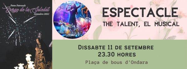 FESTES SOLEDAT 2021: ESPECTACLE THE TALENT, EL MUSICAL