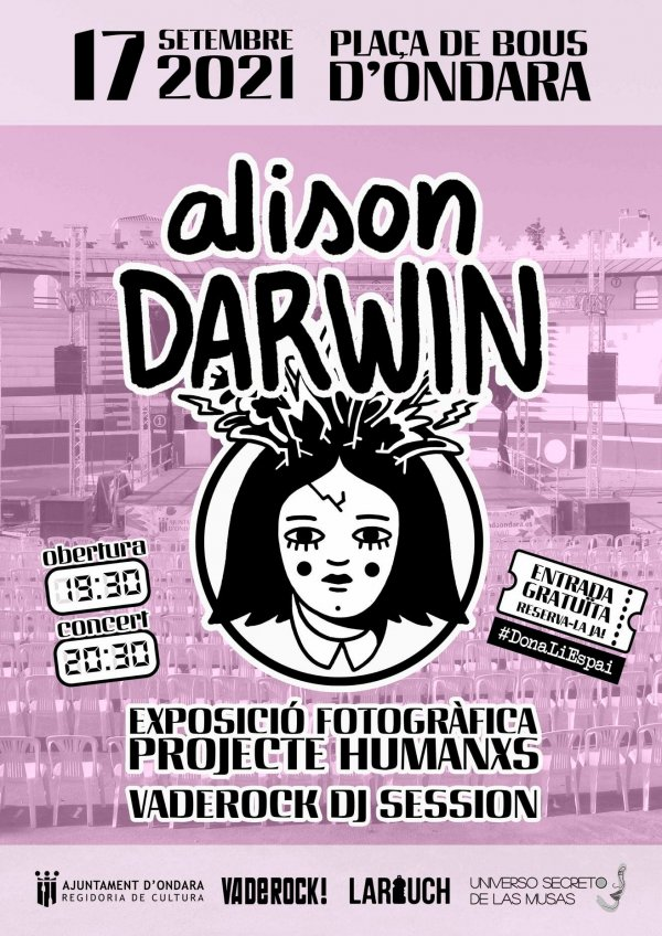 CONCERT ALISON DARWIN