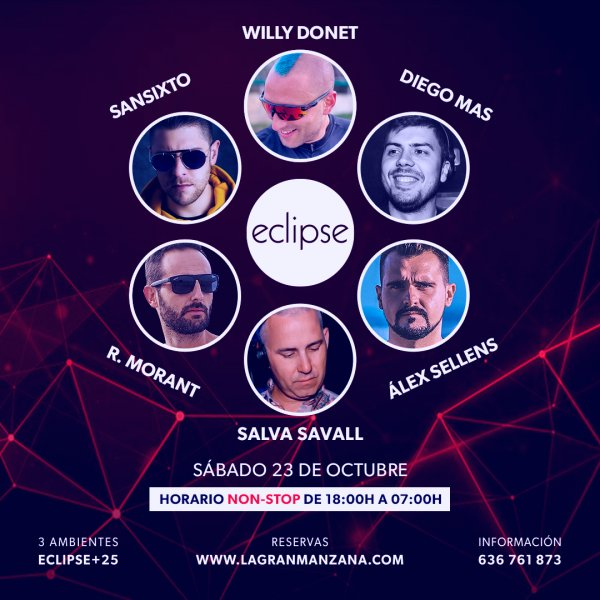 ECLIPSE | SABADO 23 OCTUBRE
