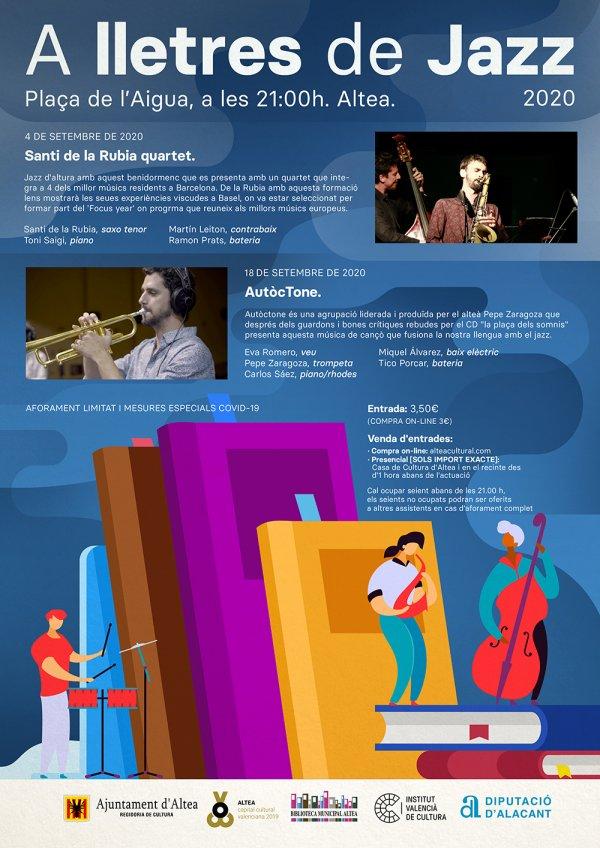 AutòcTone - A lletres de Jazz - Altea 2020