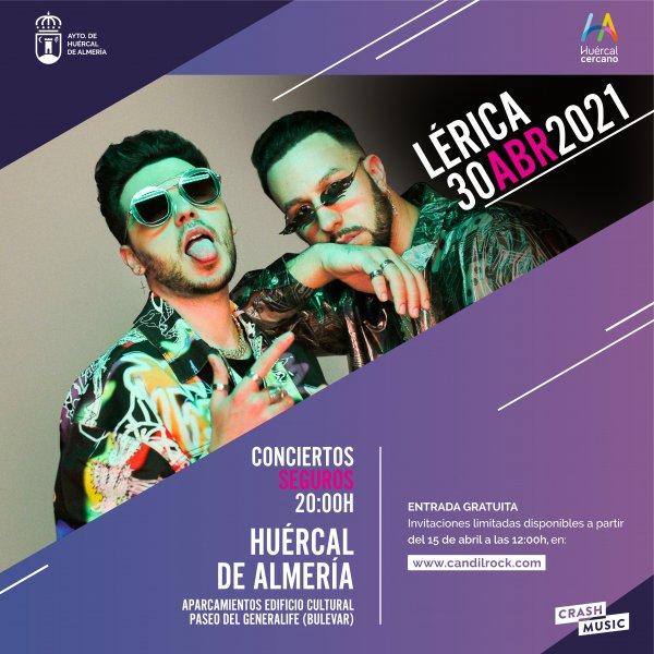 LÉRICA - CONCIERTOS SEGUROS HUÉRCAL DE ALMERÍA
