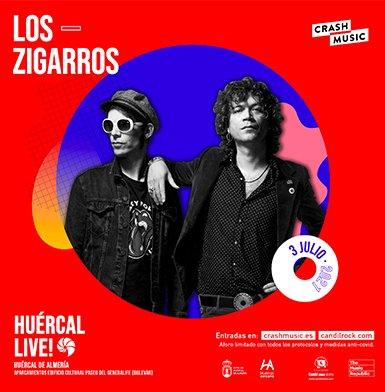 CONCIERTO DE LOS ZIGARROS - HUÉRCAL LIVE!