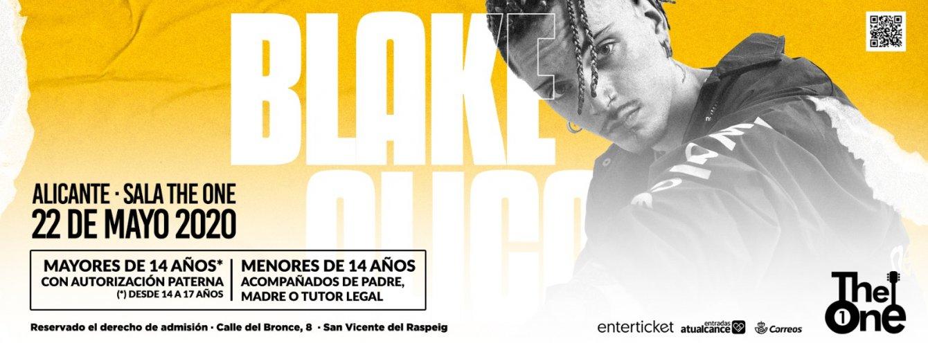 Concierto Blake Alicante 2020
