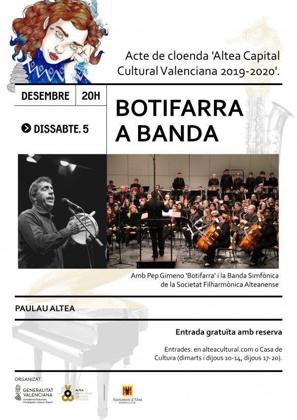 Botifarra a banda - Acte de cloenda Altea Capital Cultural 2019-2020