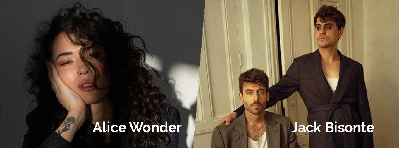 CONCIERTO ALICE WONDER + JACK BISONTE - ALMERÍA