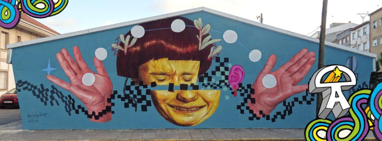 Imagen Graffiti Urban Green