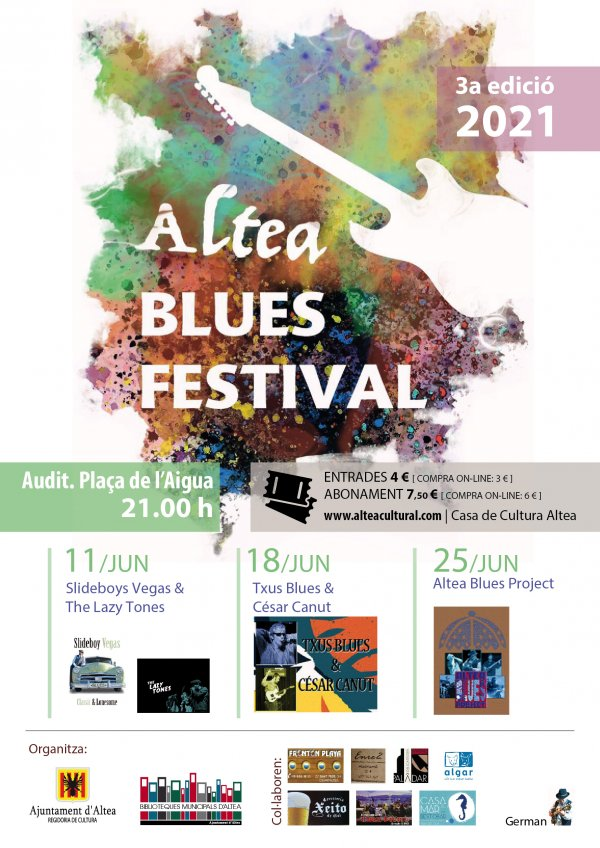 Altea Blues Project - Altea Blues Festival 2021