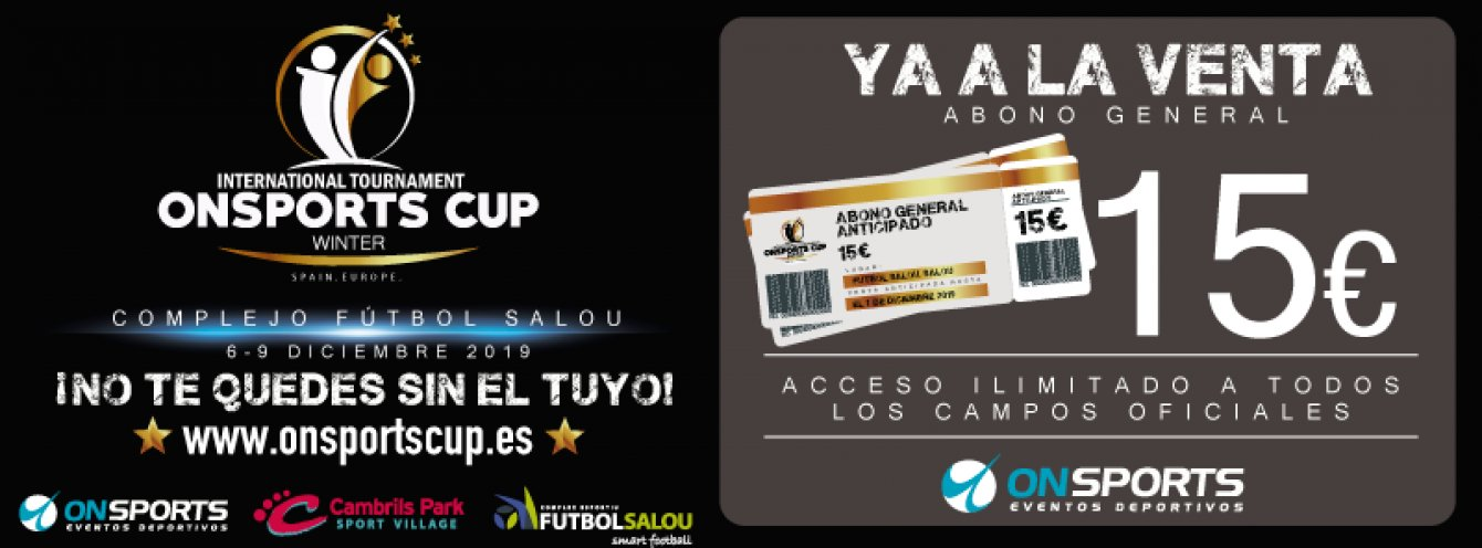 Torneo Internacional On Sports Winter Cup-Salou 2020