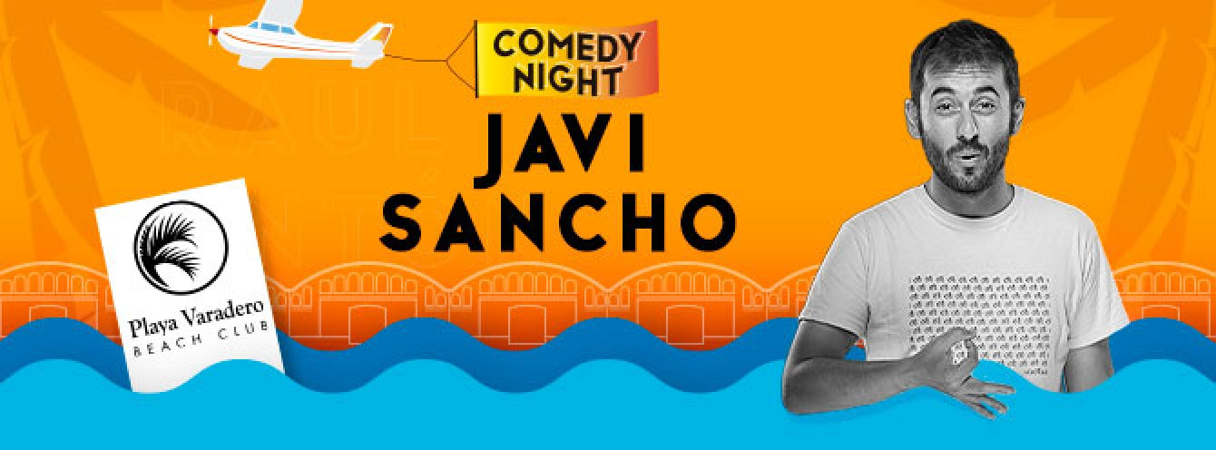 JAVI SANCHO - COMEDY NIGHT GANDIA