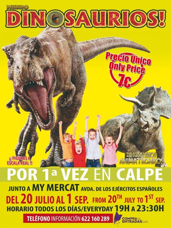 Mundo Dinosaurios - Calpe