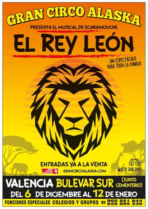 Gran Circo Alaska - El rey León
