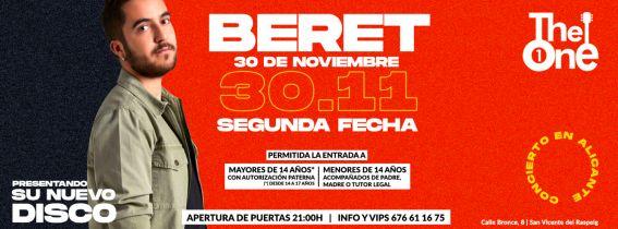 2ª Fecha - Concierto Beret Alicante 2019