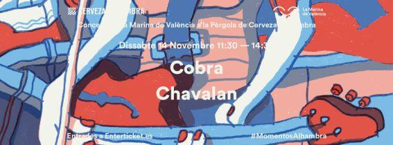 Concerts de La Marina a la Pèrgola de Cervezas Alhambra: Cobra + Chavalan