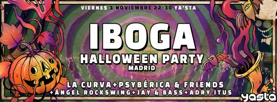 Iboga Halloween Party 2019