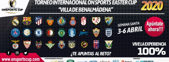 TORNEO INTERNACIONAL ON SPORTS EASTER CUP
