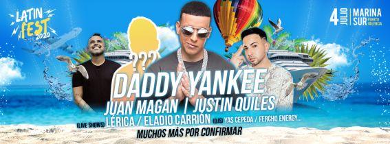 Latin Fest 2020 - Daddy Yankee en Valencia