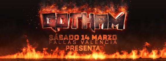 GOTHAM pres. Arkham Asylum [Fallas]