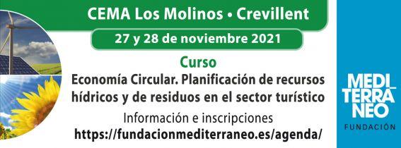 Curso Economía Circular. Planificación de recursos hídricos y de residuos en el sector turístico.