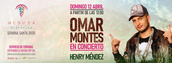 Medusa Beach Club - OMAR MONTES