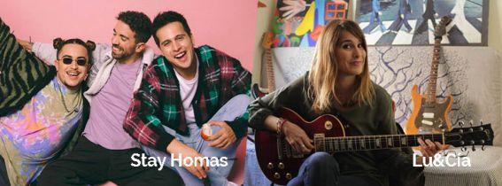 CONCIERTO STAY HOMAS + LU&CIA - ALMERÍA