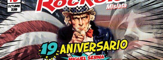 Rockola Mislata - 19 Aniversario