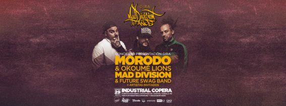 Morodo & Okoumé Lions en Granada junto a Mad Division