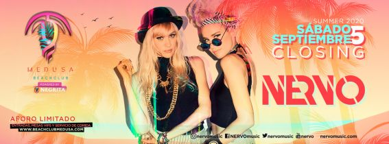 Medusa Beach Club - NERVO