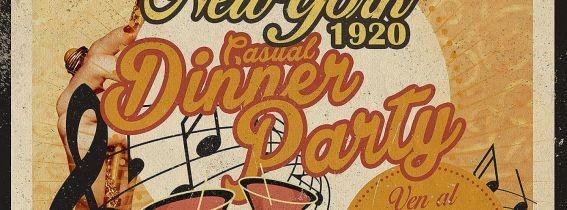"Fiesta de Carnaval, ""New York 1920"" The Burlesque Club"