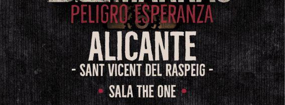 Concierto Los de Marras en Sala The One - Alicante