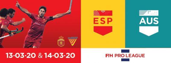 FIH Hockey Pro League 2020 España - Australia