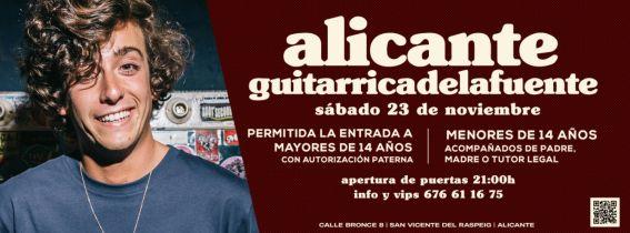 Concierto Guitarrica Delafuente Alicante