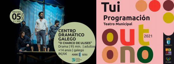 "ENTRADAS TEATRO TUI OUTONO | CDG ""O charco de Ulises"""