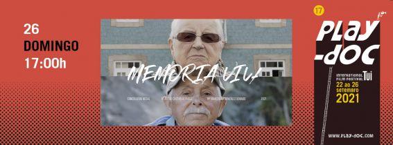 PLAY-DOC FESTIVAL - PERESENTACIÓN PROXECTOS: OLLAR + MEMORIA VIVA
