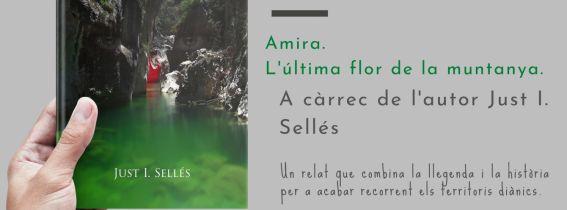 """PRESENTACIÓ DEL LLIBRE """"Amira. L'última flor de la muntanya"""""""