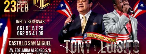 Luisito Carrión & Tony Vega | Live in Tenerife