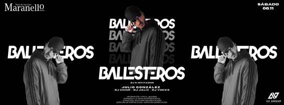 BALLESTEROS DJ EN MARANELLO