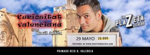 Raúl Antón - Curiositat Valenciana