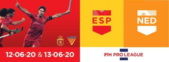 FIH Hockey Pro League 2020 España - Holanda
