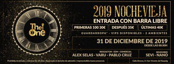 NOCHEVIEJA SALA THE ONE 2019/2020