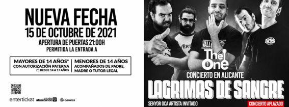 Concierto Lágrimas de Sangre Alicante 2021