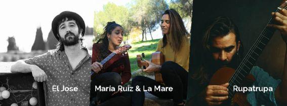 CONCIERTO EL JOSE, MARÍA RUIZ & LA MARE Y RUPATRUPA - ALMERÍA