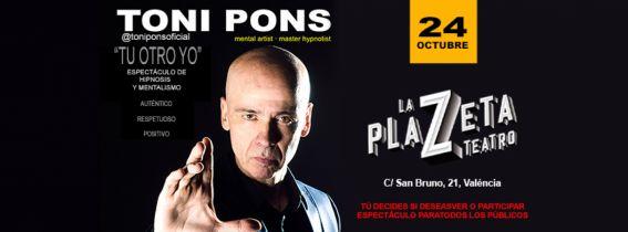 "Toni Pons ""Espectáculo Mentalismo e Hipnosis"""