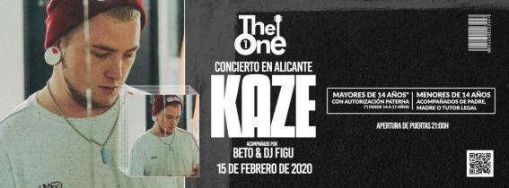 Concierto Kaze Alicante 2020