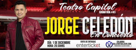 Concierto de Jorge Celedón en Madrid
