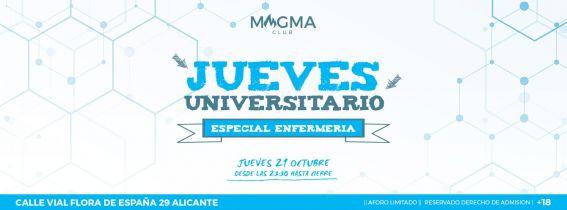 JUEVES UNIVERSITARIO: Especial Enfermeria